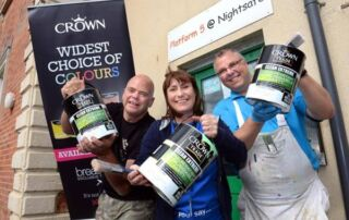 Crown Paints and Blackburn Round Table Bring Us Colour