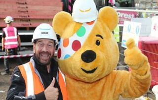 Nick Knowles and the DIY SOS team are heading to Blackburn