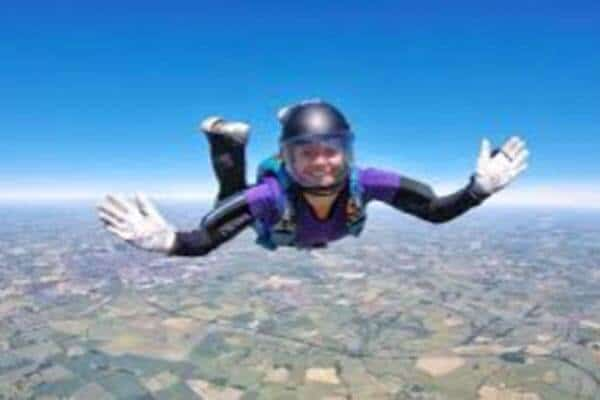 Rhiannon Is Sky Diving For Nightsafe!