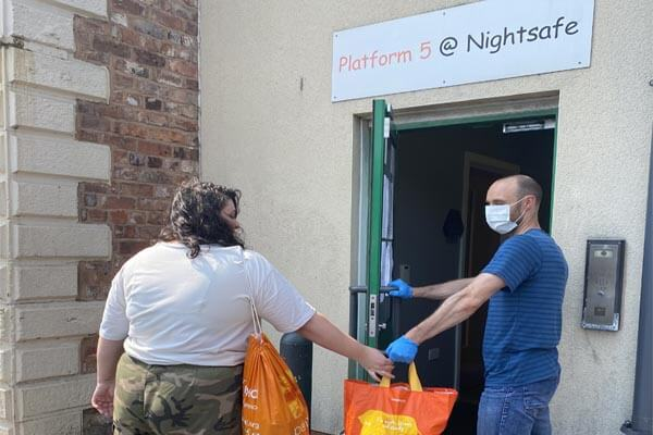 Hundreds of homeless helped with food during pandemic - thanks to Freemasons