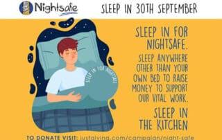 Sleep In for World Homeless Week