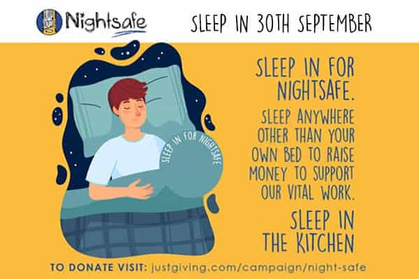 Sleep In for World Homeless Week