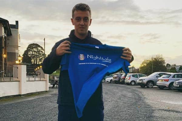 Kris runs 100 miles to help Nightsafe raise £100K