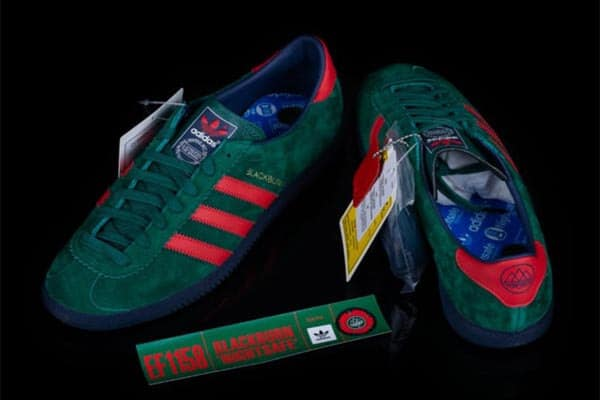 BIDS for limited edition Nightsafe Adidas trainers reached over £800