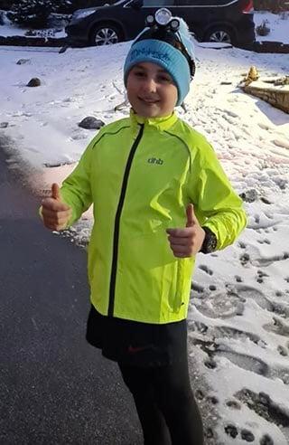 11 year old James McGregor