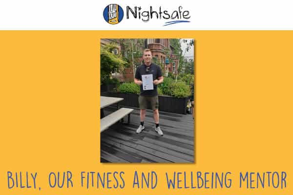 Billy is our Health, fitness and wellbeing mentor